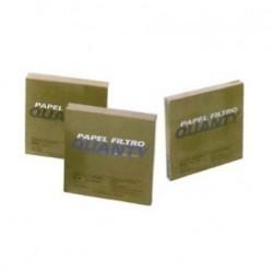 PAPEL FILTRO QUANTITATIVO JP40, FAIXA BRANCA 15cm DE DIÂMETRO, PCT COM 100 - JPROLAB
